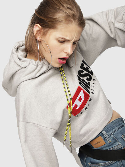 Diesel - F-DINIE-A, Light Grey - Sweaters - Image 3