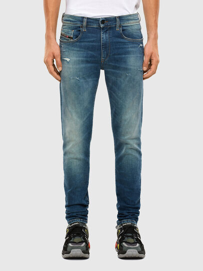 Diesel - D-Strukt 009IT, Medium blue - Jeans - Image 1