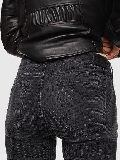 Diesel - D-Ollies JoggJeans 0093H, Black/Dark grey - Jeans - Image 5