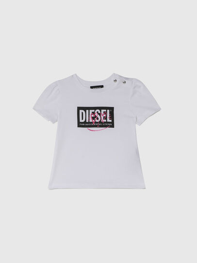 Diesel - TRIDGEB, White - T-shirts and Tops - Image 1