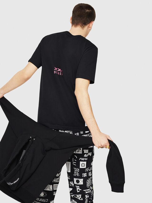 Diesel - T-JUST-Y23, Black - T-Shirts - Image 3