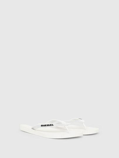 Diesel - SA-KAUAY, White - Slippers - Image 2