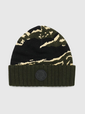 K-MASK, Green/Black - Knit caps