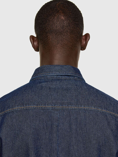 Diesel - D-RAPP, Dark Blue - Denim Shirts - Image 4