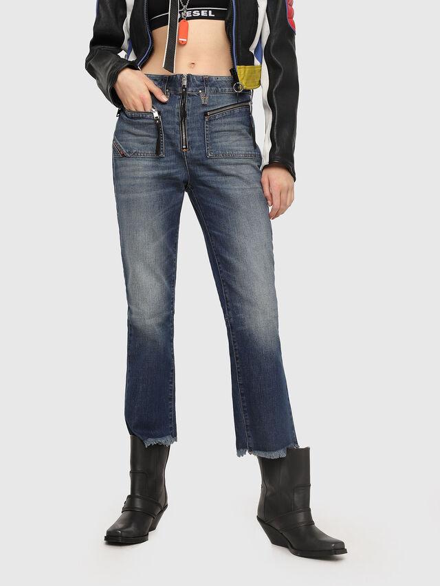 Diesel - D-Earlie 089AR, Medium blue - Jeans - Image 1