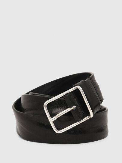 Diesel - B-SILVER, Black - Belts - Image 2