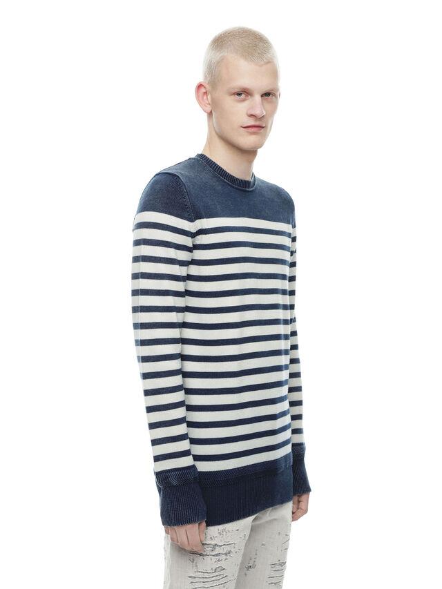 Diesel - KISTREET, Blue/White - Knitwear - Image 3