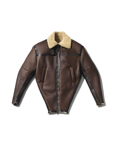 Diesel - GMLT01,  - Leather jackets - Image 1
