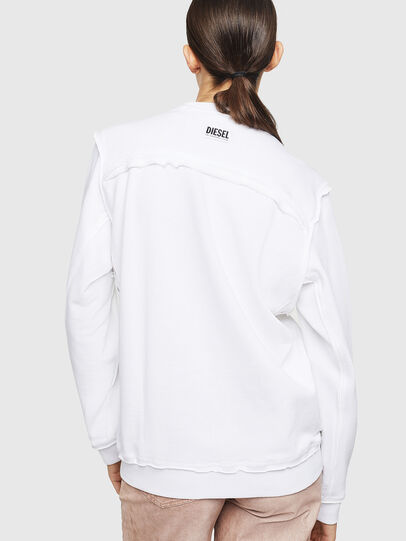 Diesel - F-LYANY-G, White - Sweaters - Image 2