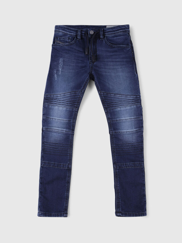 Diesel - BAKARI-J JOGGJEANS, Dark Blue - Jeans - Image 1