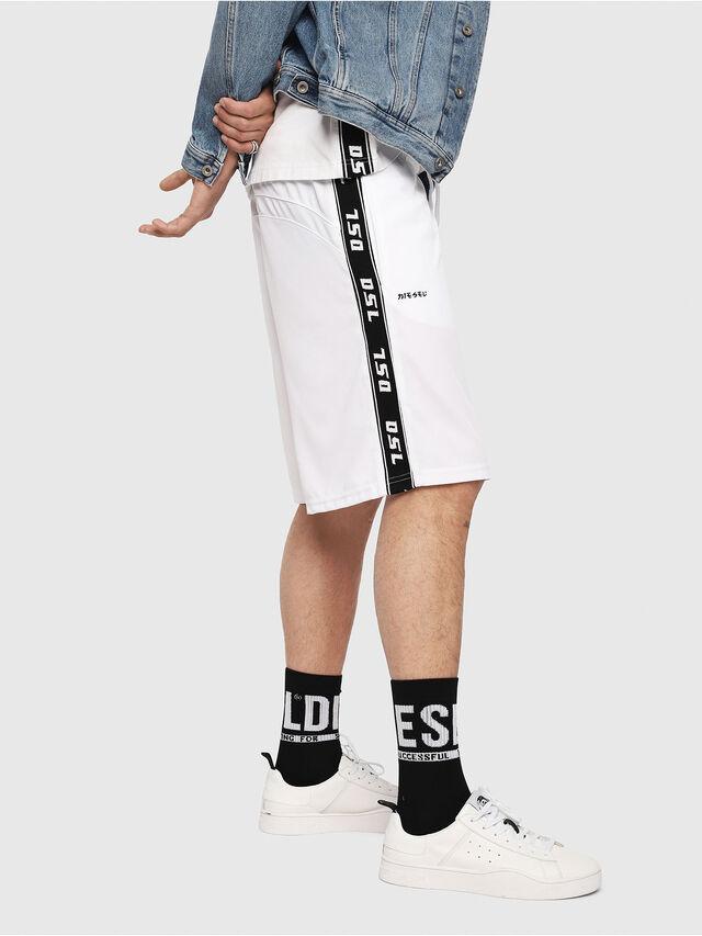 Diesel - P-HITOSHI, White/Black - Shorts - Image 3
