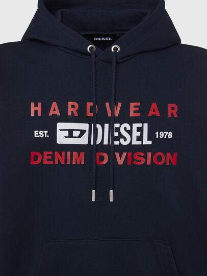 Diesel - S-GIRK-HOOD-K20, Dark Blue - Sweaters - Image 3
