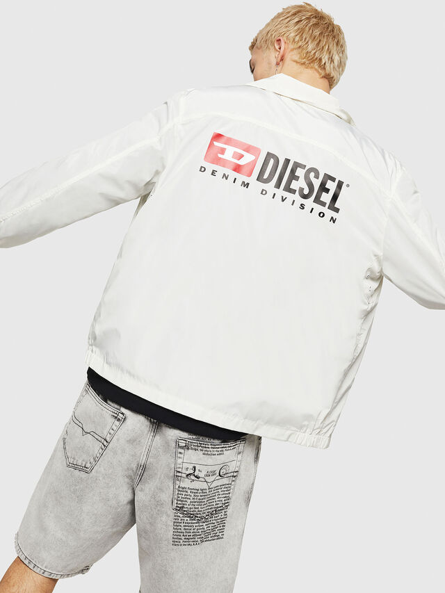 Diesel - J-ROMAN-P, White - Jackets - Image 4