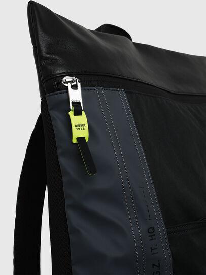 Diesel - L-TOLLE BACK, Black/Blue - Backpacks - Image 4