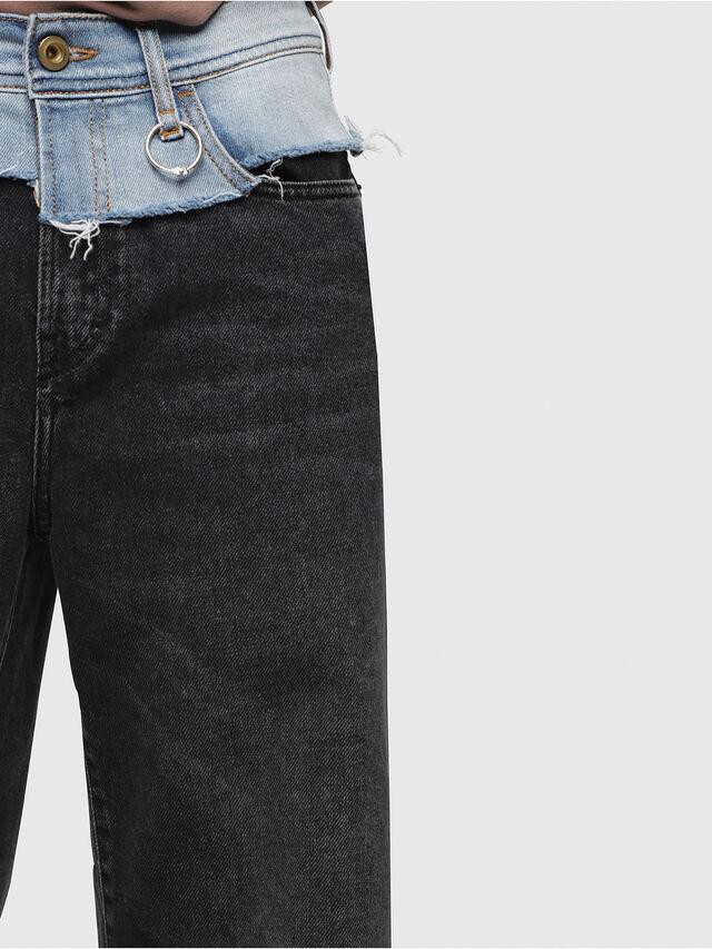 Diesel - Widee 088AB, Black/Dark grey - Jeans - Image 3