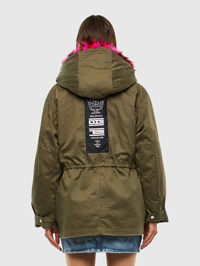 Diesel - G-URIBE, Military Green - Jackets - Image 2