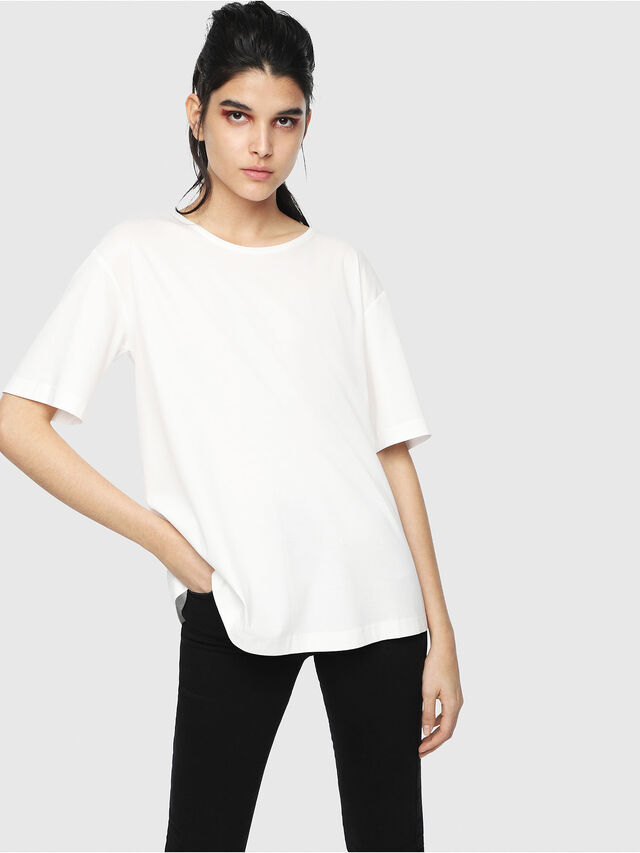Diesel - T-FATIN-A, White - T-Shirts - Image 1