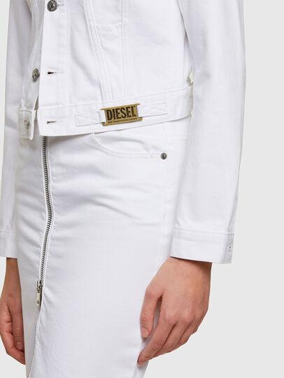 Diesel - DE-LIMMY, White - Denim Jackets - Image 3