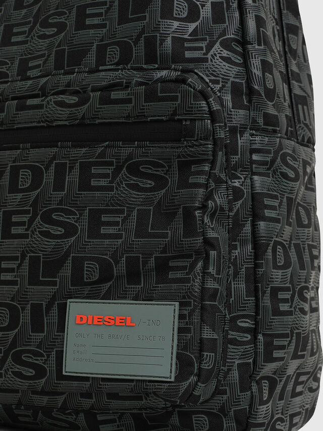 Diesel - F-DISCOVER BACK, Black/Grey - Backpacks - Image 3