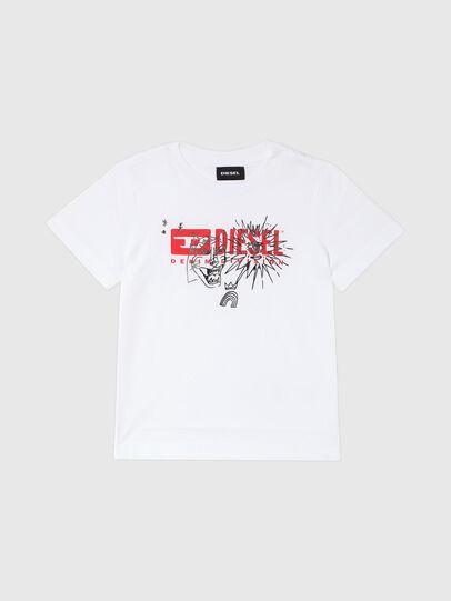 Diesel - TUDARIB-R, White - T-shirts and Tops - Image 1