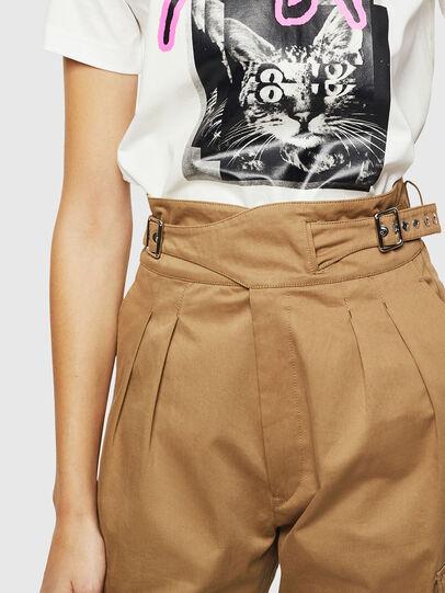 Diesel - P-CHIKU, Light Brown - Pants - Image 4