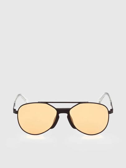 Diesel - DL0339, Black/Yellow - Sunglasses - Image 1