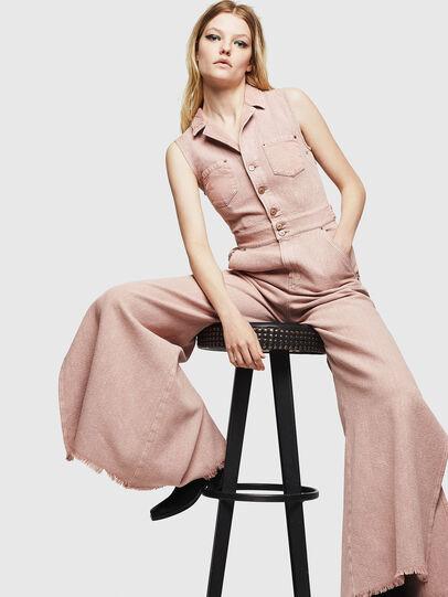 Diesel - DE-GRACE-P, Pink - Jumpsuits - Image 6