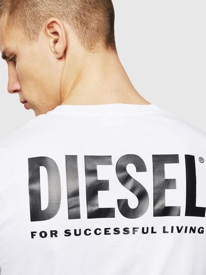 Diesel - LR-T-DIEGO-VIC, White - T-Shirts - Image 5