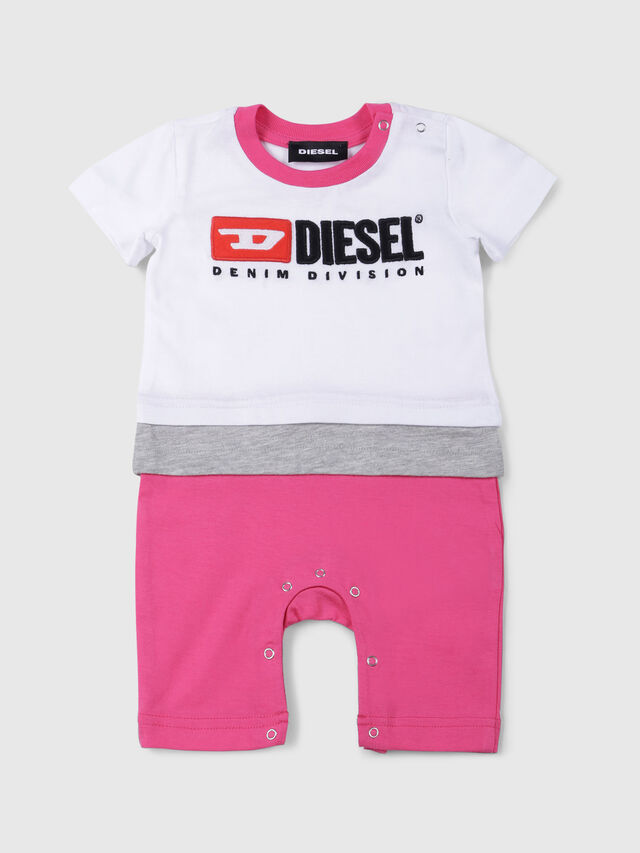 Diesel - JEKKY-NB, White/Pink - Jumpsuits - Image 1