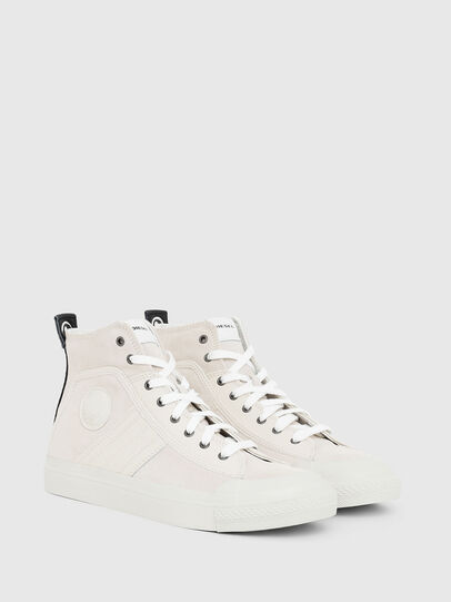 Diesel - S-ASTICO MC LOGO, Pink/White - Sneakers - Image 2