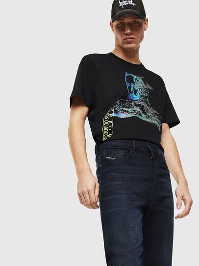 Diesel - D-Eetar 084AY, Dark Blue - Jeans - Image 3