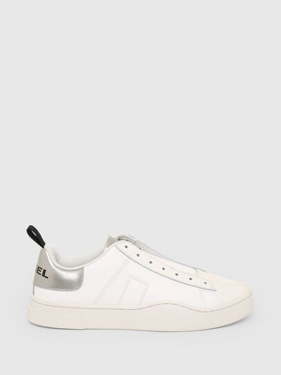 Diesel - S-CLEVER SO W, White/Silver - Sneakers - Image 1