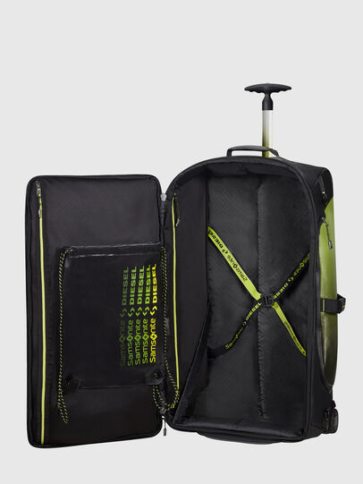 Diesel - KA2*69010 - PARADIVE, Black/Yellow - Duffles with wheels - Image 4