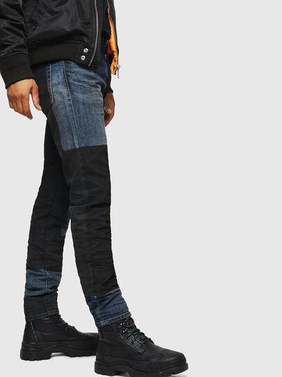 Diesel - D-Strukt 0094K, Dark Blue - Jeans - Image 3