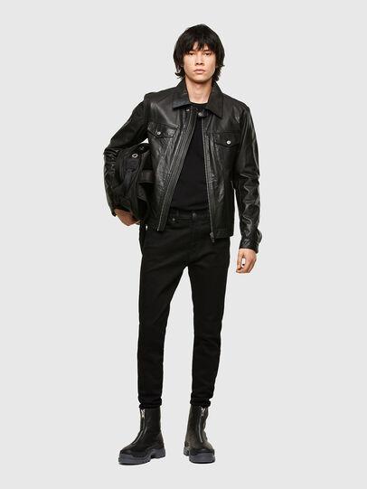 Diesel - L-PAD, Black - Leather jackets - Image 5