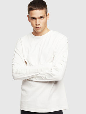 T-JUST-LS-BX3, White - T-Shirts