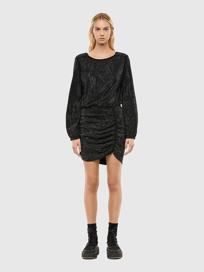 Diesel - D-RENEE-BLING-V2, Black - Dresses - Image 1