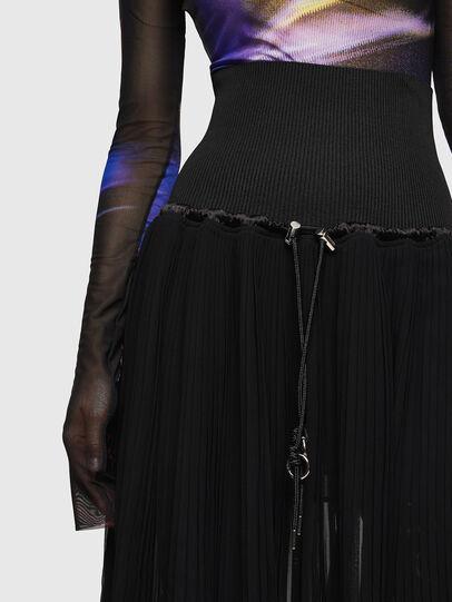 Diesel - O-ARIE, Black - Skirts - Image 3