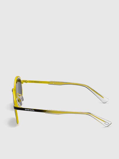 Diesel - DL0321, Black/Yellow - Sunglasses - Image 3
