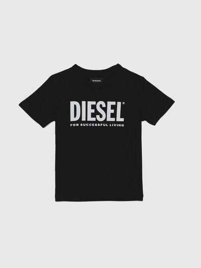 Diesel - TJUSTLOGOB-R, Black - T-shirts and Tops - Image 1
