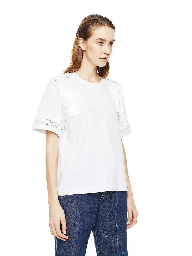 Diesel - TREENA, White - T-Shirts - Image 3