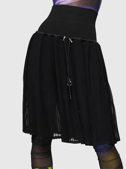 Diesel - O-ARIE, Black - Skirts - Image 1