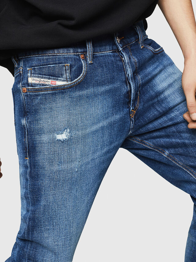 Diesel - Tepphar 0870H, Medium blue - Jeans - Image 3