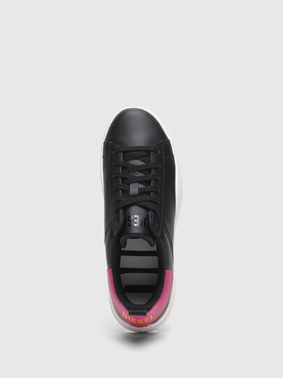 Diesel - S-CLEVER LOW LACE W, Black/Pink - Sneakers - Image 5