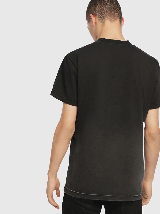 Diesel - SE-DIEGO, Black - T-Shirts - Image 3