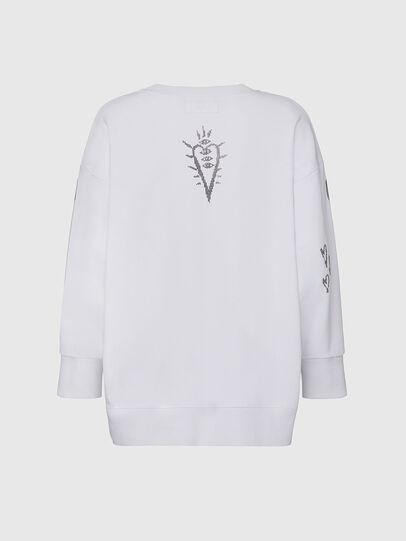 Diesel - F-AKUA-E60, White - Sweaters - Image 2