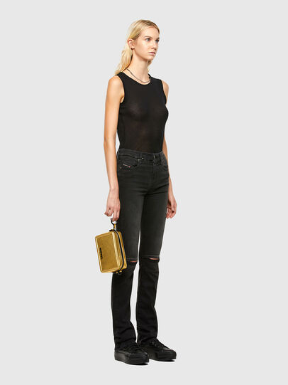 Diesel - ROSA' PCHAIN, Gold - Crossbody Bags - Image 7
