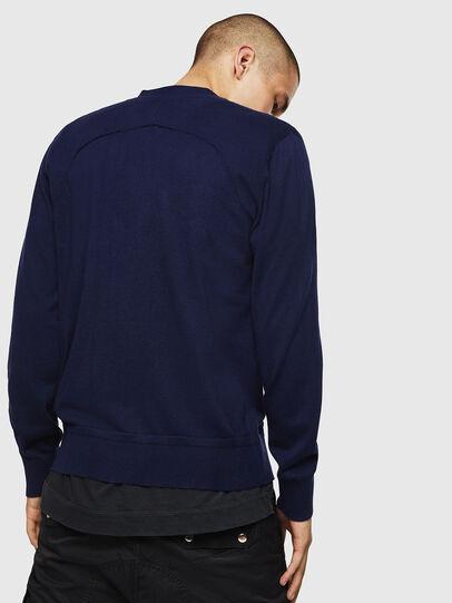 Diesel - K-MILOK, Blue - Knitwear - Image 2