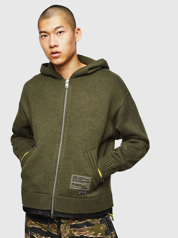 K-NAVY, Military Green - Knitwear