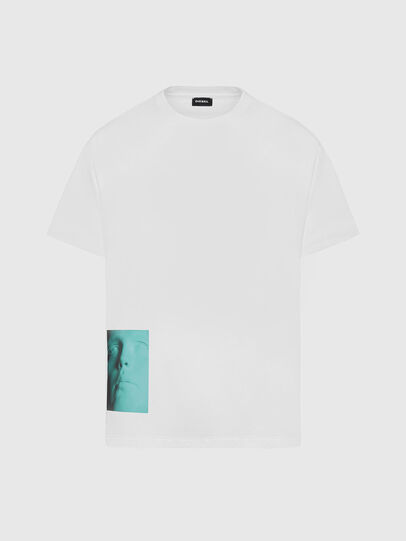 Diesel - T-JUST-SLITS-X81, White - T-Shirts - Image 1
